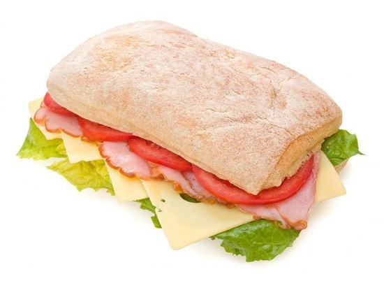Ciabatta sandwich изображений spiderpic royalty free stock photos