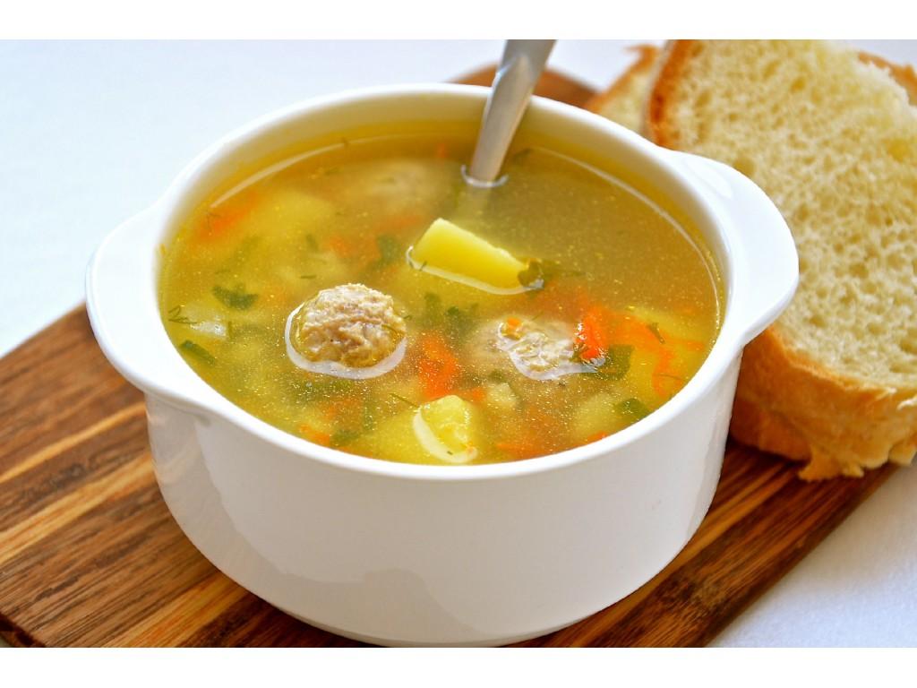 Суп с фрикадельками рецепт пошагово с фото