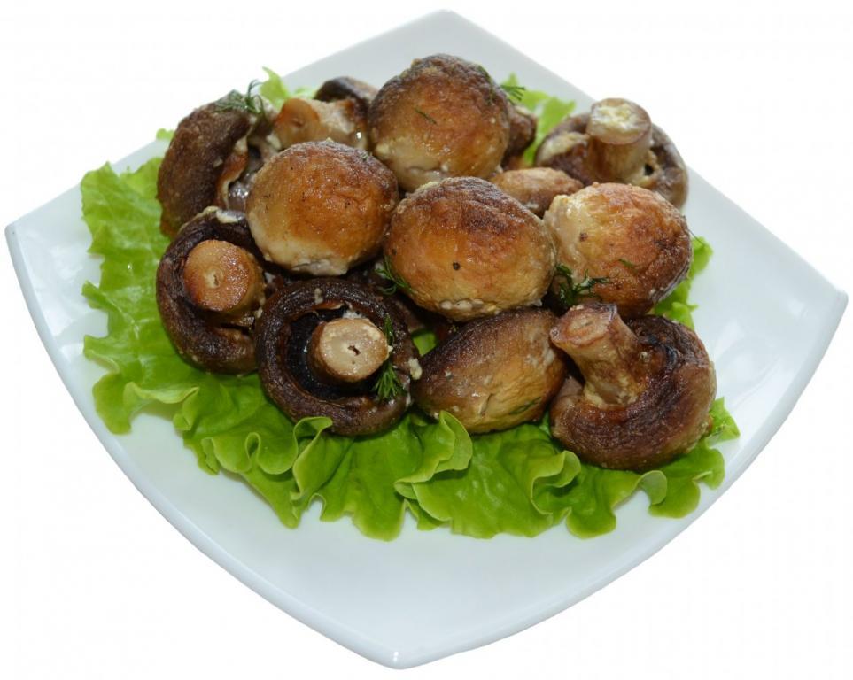 Шашлыки с грибами